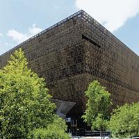 アフリカ系米国人博物館=米国ワシントンで2019年撮影