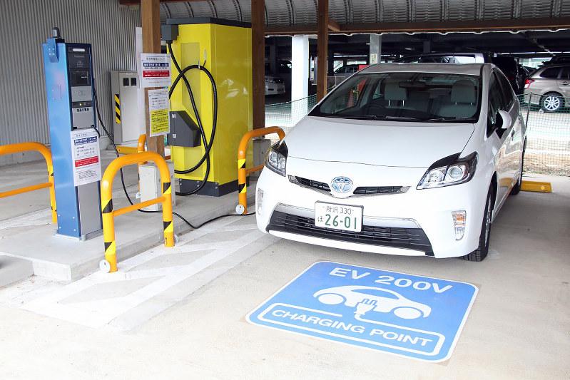 充電ステーションもMaaS普及の重要な要素