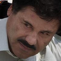 麻薬王のホアキン・グスマン被告=メキシコで2014年、AP