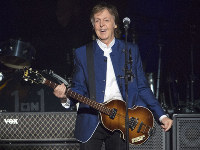 In this July 10, 2017 file photo, Paul McCartney performs at Amalie Arena in Tampa, Fla. USA. (AP Photo/Scott Audette)