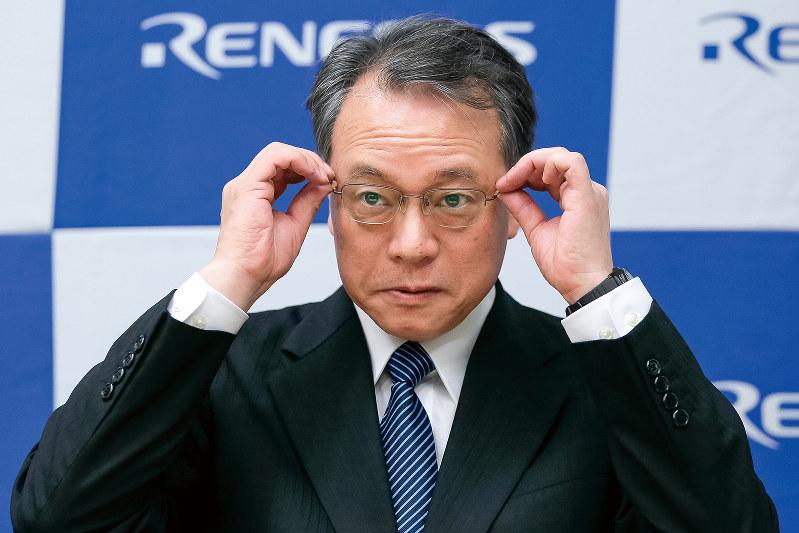 ルネサスエレクトロニクス社長兼CEOを退任した呉文精氏(Bloomberg)