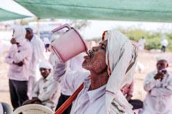水問題は年々、深刻化している(Bloomberg)