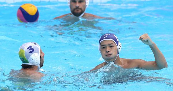 水球男子が辛くも逃げ切る 世界水泳・決勝トーナメント進出