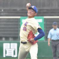 球場表示で自己最速の158キロをマークした星稜の奥川恭伸投手=金沢市の石川県立野球場で2019年7月21日、岩壁峻撮影