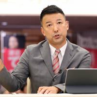 山本太郎氏(れいわ・比例)=小川昌宏撮影