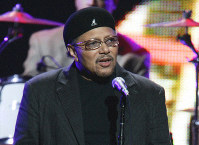 This Sept. 20, 2005 file photo shows singer Art Neville performing during the