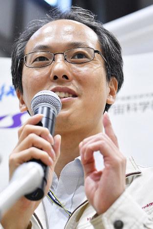 津田雄一・プロジェクトマネージャー 宇宙航空研究開発機構(JAXA)