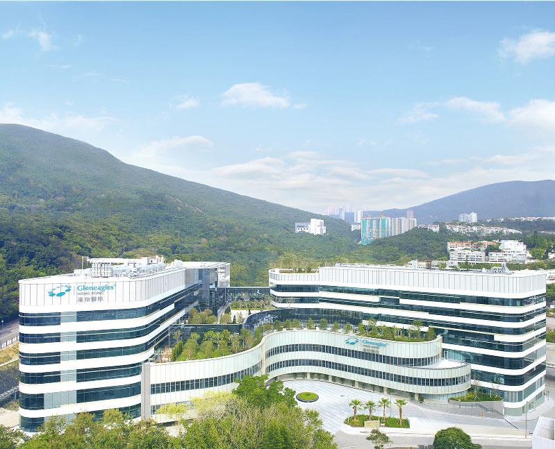 香港にある、IHH傘下の病院・グレンイーグルス(三井物産提供)
