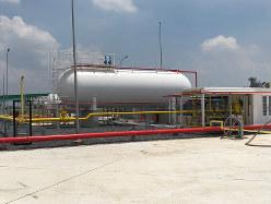 ベトナムのガス供給施設(双日提供)