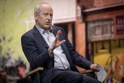 マイケル・サンデル ハーバード大教授(Bloomberg)