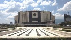 共産主義時代末期に建設された国立文化宮殿。デザインがまがまがしいが……(写真は筆者撮影)
