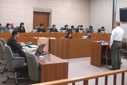 札幌地裁で行われた模擬裁判=2008年