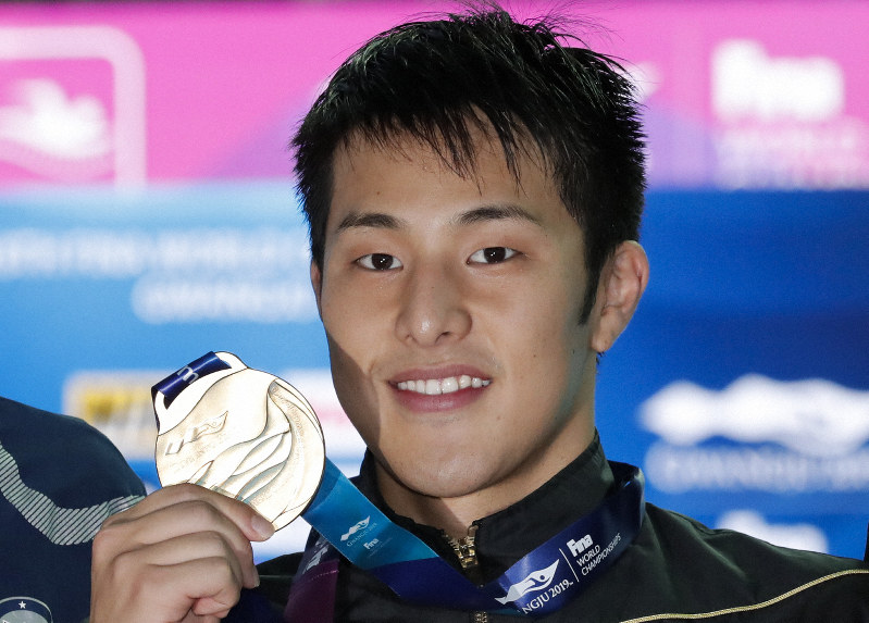 Swimming: Seto completes IM world double with 400 win - The