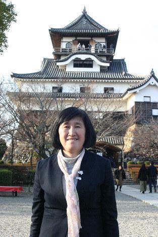 「犬山城はイケメンの城です。デザイン性が高く周囲の風景とも合っています」
