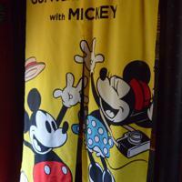 8月1日から運行するミッキー新幹線の内装(C)Disney=熊本市の熊本総合車両所で2019年7月31日午後2時39分、浅川大樹撮影