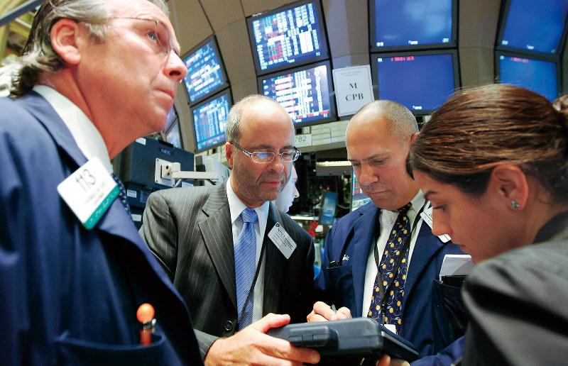 リーマン・ショック(Bloomberg)