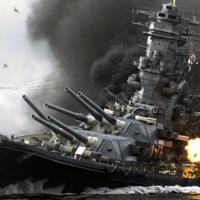 「アルキメデスの大戦」の戦艦大和轟沈場面