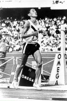 1968 Mexico City Olympics -- Japan's Kenji Kimihara won the silver medal in the men's marathon. He finished in the top nine in three consecutive Olympic events in Tokyo, Mexico City and Munich.
