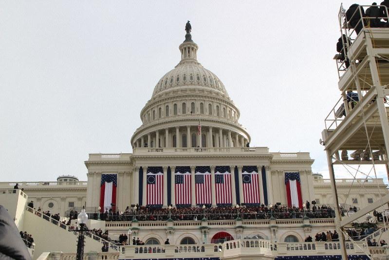 米連邦議会議事堂=2013年1月、古本陽荘撮影
