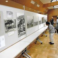 """写真や絵画展示、朗読や講談などで伝える「東京大空襲を忘れない""""平和の集い""""」展=江東区の江戸深川資料館で"""