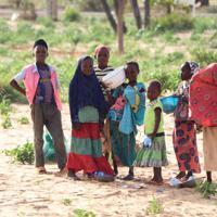 ニジェール農村部の子供たち。人口増加は潜在的な可能性を秘める一方、いかに教育や福祉を提供するかが課題になっている=ニジェール南部ザンデール州ドゴで2019年6月25日、小泉大士撮影
