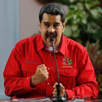 ベネズエラのマドゥロ大統領=AP