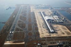 コンセッション方式によって民間が運営する関西国際空港