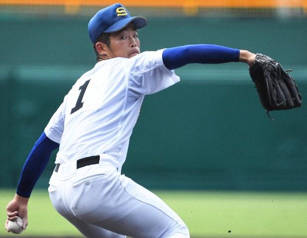 高校野球:1点差で敗れた聖光学院・斎藤監督「強い低い打球が重なって ...