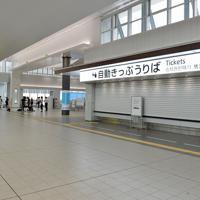 台風10号の影響で計画運休となり、ひとけがないJR広島駅=広島市南区で2019年8月15日午前7時31分、木葉健二撮影