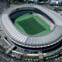 ラグビーW杯の試合が行われる東京都の東京スタジアム(味の素スタジアム)