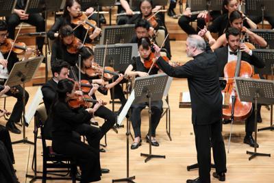 東京公演より、ゲルギエフとPMFオーケストラ=8月1日・サントリーホール (C) PMF組織委員会