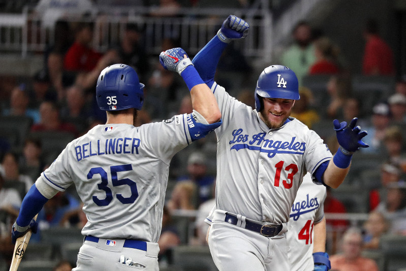 MLB: Bellinger, Muncy, Turner HRs power Dodgers past Braves