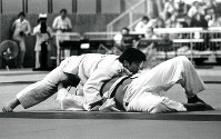 1976 Montreal Olympics -- Japan's Haruki Uemura secured the gold medal in the open weight division in the men's judo by defeating Keith Remfry of Britain in the final by ippon.