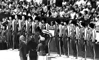 1976 Montreal Olympics -- The Japanese women's volleyball team took the gold medal by defeating long-time rival Soviet Union in the final. The team swept all sets in its five matches and was dubbed