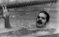 1976 Montreal Olympics -- John Naber of the United States won four gold medals and one silver in swimming, setting multiple world records.