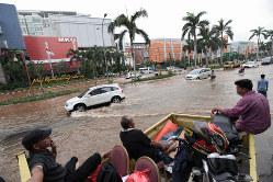 ジャカルタでは洪水が多発している(Bloomberg)