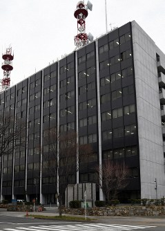 Aichi Prefectural Police headquarters is seen in this file photo, taken in Naka Ward, Nagoya, on Feb. 27, 2019. (Mainichi/Hiroki Sameshima)