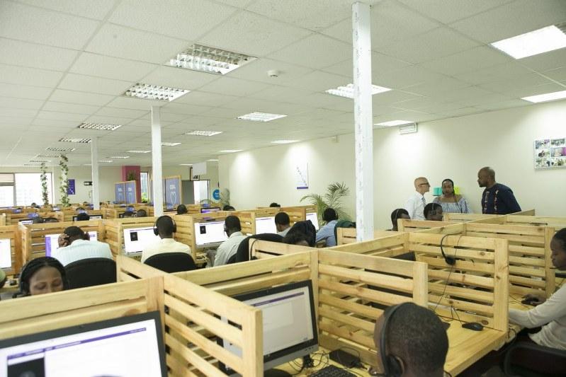 ルワンダのBabylのオフィス(Babylon提供)