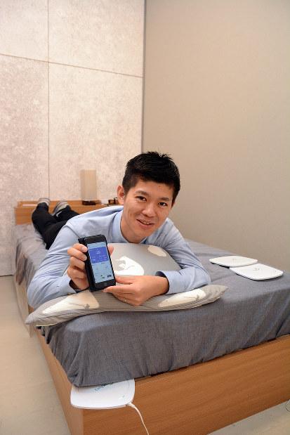 小林孝徳 ニューロスペース社長 眠りの質改善で生活を快適に