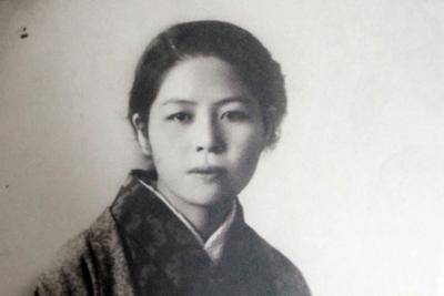 日本に帰れないまま旧満州で亡くなった赤崎さんのお母さんの隆子さん=赤崎さん提供