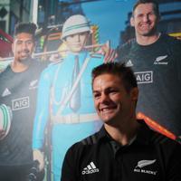 ラグビー・ワールドカップの2011、15年大会でチームの連覇に貢献した元ニュージーランド代表主将のリッチー・マコウさん=東京都千代田区の日本外国特派員協会で2019年7月18日、長谷川直亮撮影