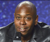 In this Sept. 9, 2018 file photo, Dave Chappelle speaks at the press conference at the Toronto International Film Festival at the TIFF Bell Lightbox in Toronto. (Photo by Evan Agostini/Invision/AP, File)