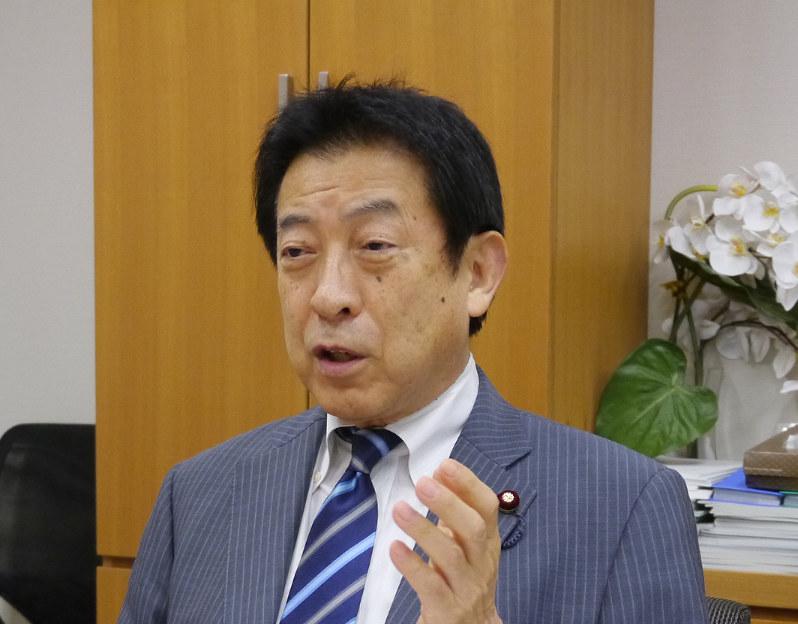 塩崎恭久 元厚生労働相(自民党データヘルス推進特命委員長)
