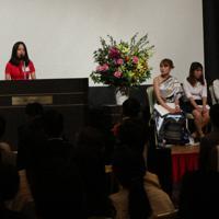 日本で学んだことを発表するベトナム人の技能実習生