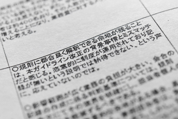 Japan Cabinet Office Ignored Feedback Over Vague Revisions To