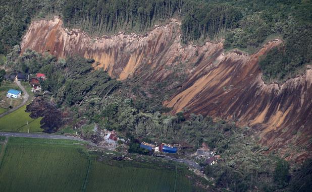 北海道地震 被害額は1620億円、停電の影響1318億円 - 毎日新聞