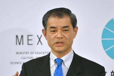 Education minister Masahiko Shibayama (Mainichi)
