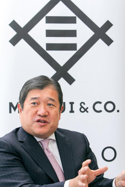 編集長インタビュー 安永竜夫 三井物産社長