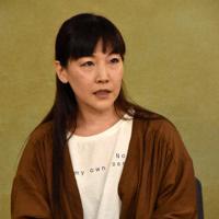 フリーランス時代に性暴力を受けたと記者会見で訴える八幡真弓さん=東京都千代田区で10日、矢澤秀範撮影