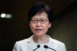 条例改正案の遅すぎた撤回(林鄭月娥政長官)(Bloomberg)